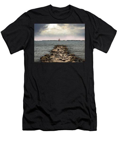Chesapeake Bay Lighthouse Men's T-Shirt (Athletic Fit)