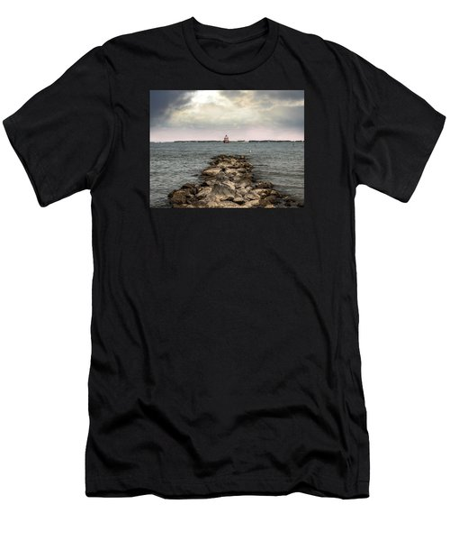Chesapeake Bay Lighthouse Men's T-Shirt (Athletic Fit)