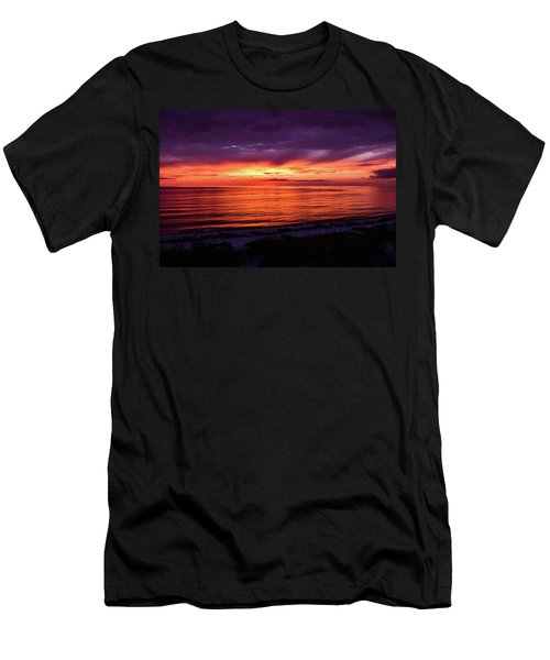 Chesapeake Bay Sunset Men's T-Shirt (Athletic Fit)