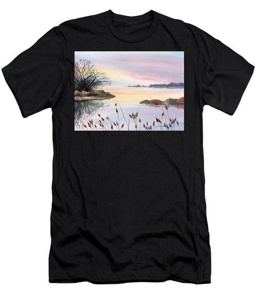 Chesapeake Bay Sunset Men's T-Shirt (Athletic Fit)