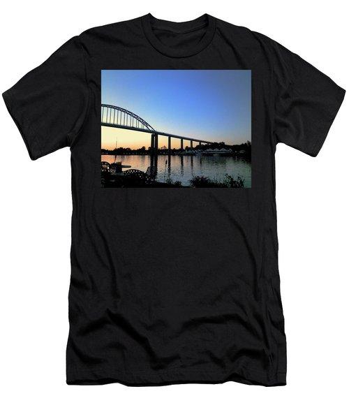 Chesapeake City Men's T-Shirt (Athletic Fit)