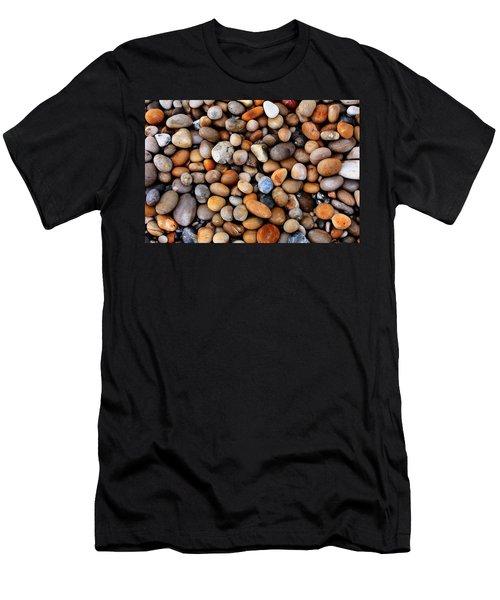 Chesil Pebbles Men's T-Shirt (Athletic Fit)