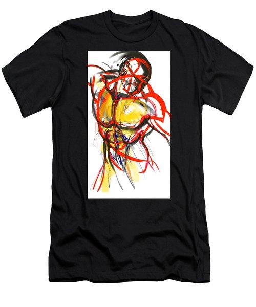 Chest Neck Study 1 Men's T-Shirt (Athletic Fit)