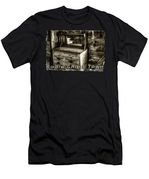 Chest With Mirror In Bodie Ghost Town Men's T-Shirt (Athletic Fit)