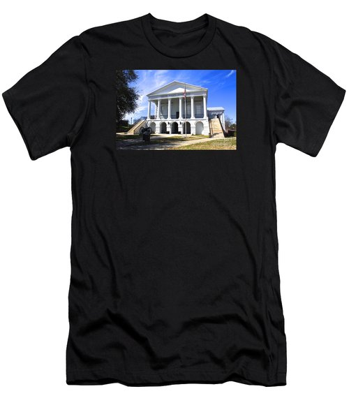Chester South Carolina Court House Day 1 Men's T-Shirt (Athletic Fit)