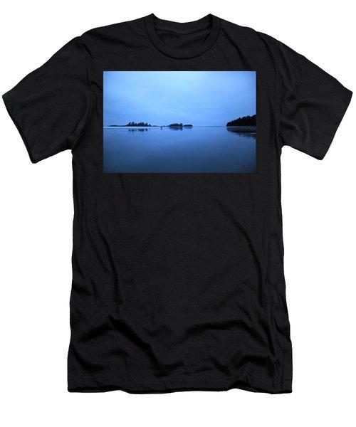 Chesterman Spatial Blues Men's T-Shirt (Athletic Fit)