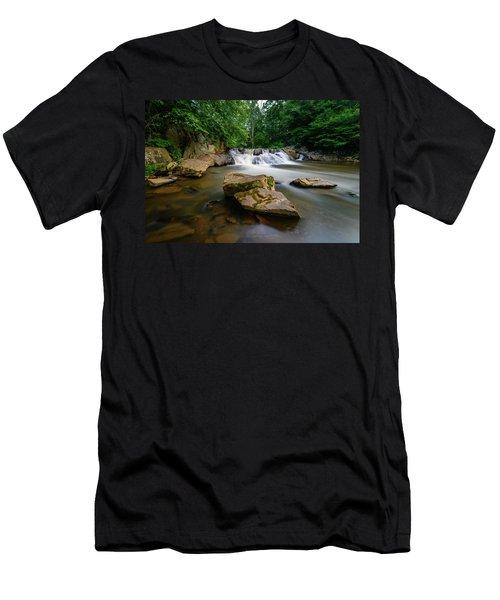Chestnut Creek Falls  Men's T-Shirt (Athletic Fit)