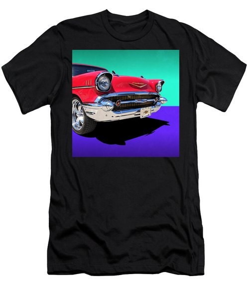 Chevrolet Bel Air Color Pop Men's T-Shirt (Athletic Fit)