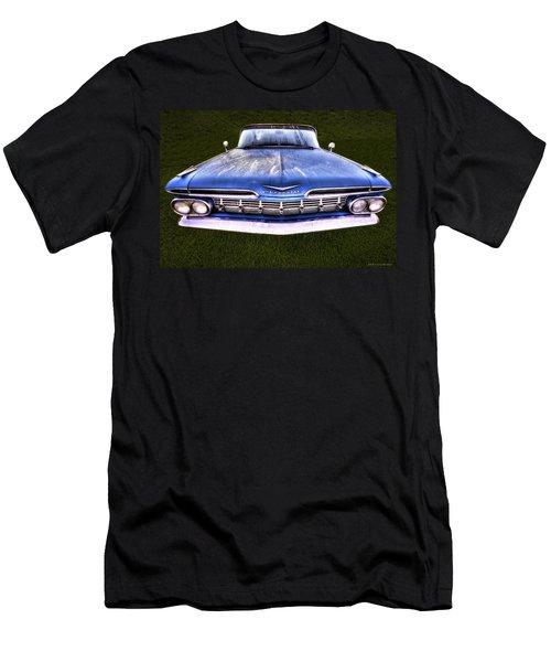 Chevrolet Men's T-Shirt (Slim Fit) by Jerry Golab