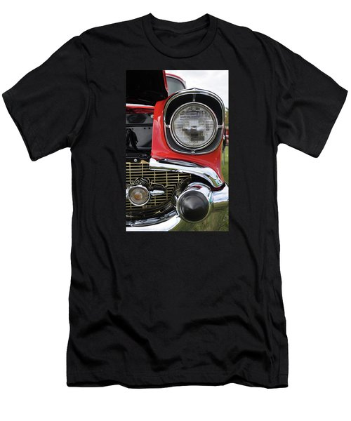 Men's T-Shirt (Slim Fit) featuring the photograph Chevy Bel Air by Glenn Gordon
