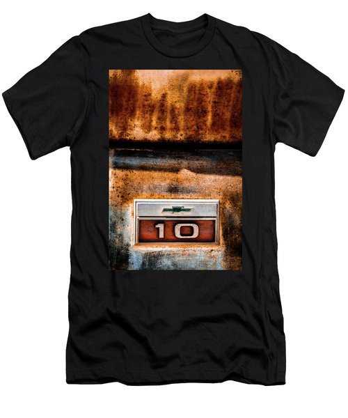 Chevy C10 Rusted Emblem Men's T-Shirt (Athletic Fit)