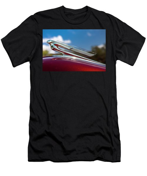 Men's T-Shirt (Athletic Fit) featuring the photograph Chevy Flying Lady by Melinda Ledsome
