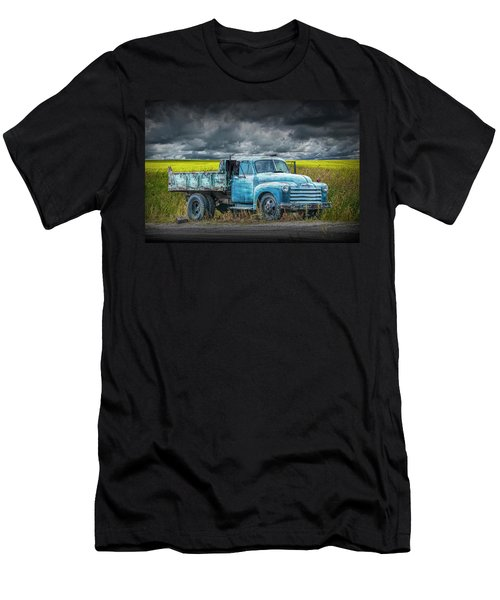 Chevy Truck Stranded By The Side Of The Road Men's T-Shirt (Athletic Fit)