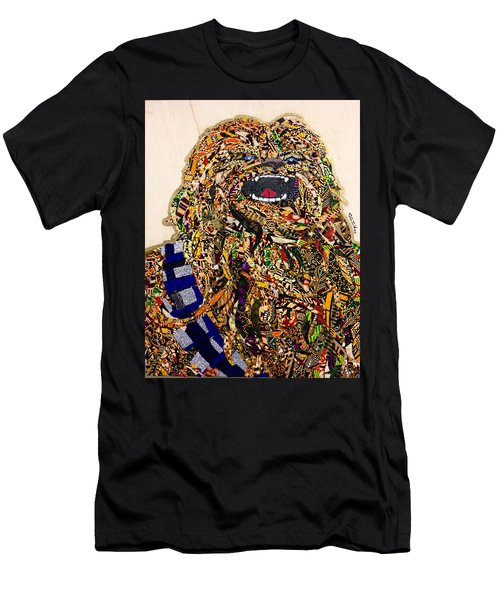 Chewbacca Star Wars Awakens Afrofuturist Collection Men's T-Shirt (Athletic Fit)