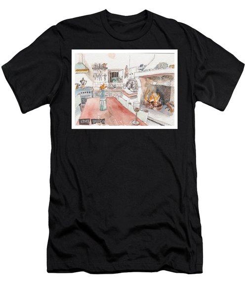 Chez Gwen Men's T-Shirt (Athletic Fit)