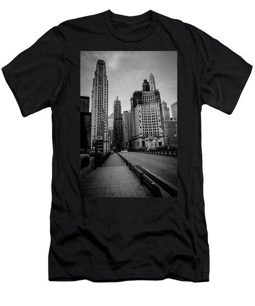 Chi Strolling Men's T-Shirt (Athletic Fit)