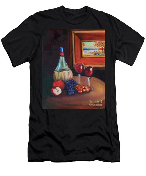 Chianti Still Life Men's T-Shirt (Athletic Fit)