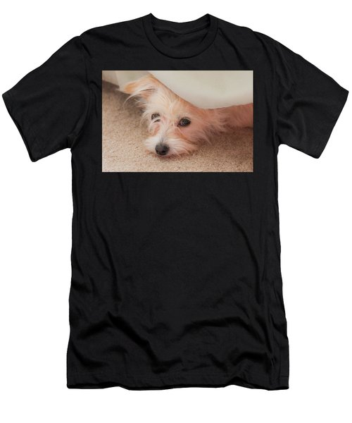 Chica In Hiding Men's T-Shirt (Athletic Fit)
