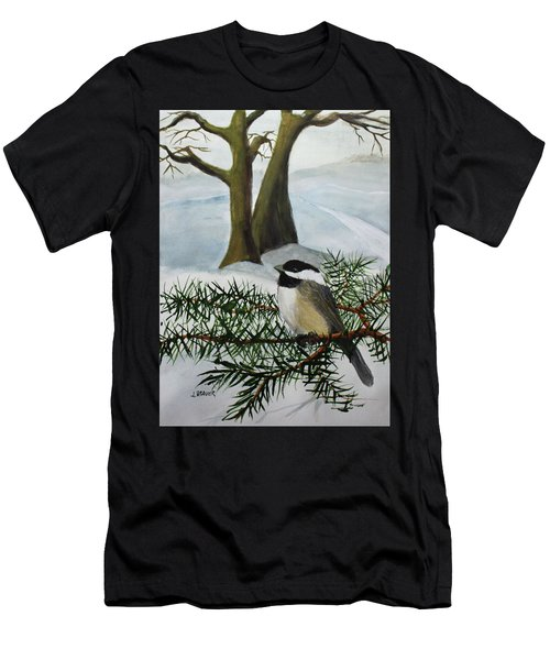 Chicadee  180126 Men's T-Shirt (Athletic Fit)