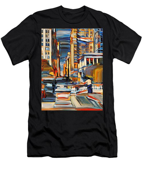 Chicago Colors 7 Men's T-Shirt (Athletic Fit)