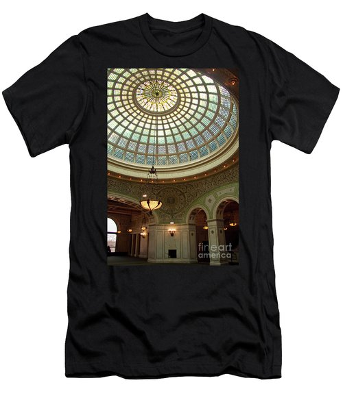 Chicago Cultural Center Dome Men's T-Shirt (Athletic Fit)