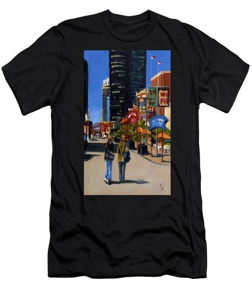 Chicago - Navy Pier Men's T-Shirt (Athletic Fit)