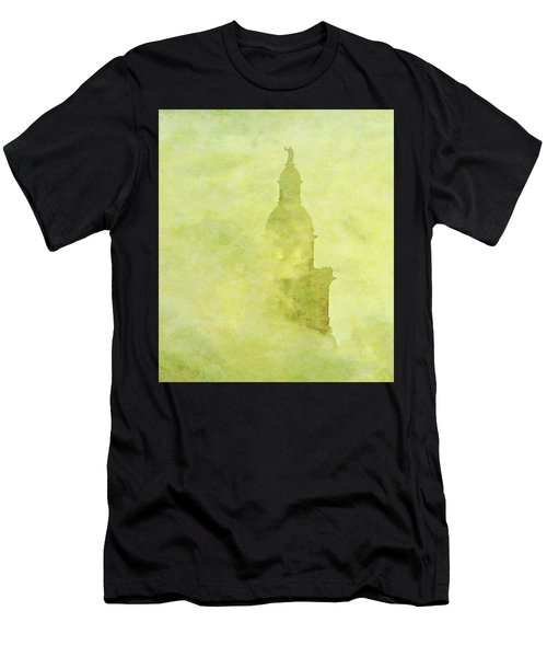 Chicago Steeple Men's T-Shirt (Athletic Fit)