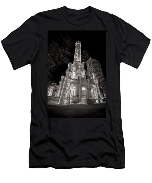 Chicago Water Tower Men's T-Shirt (Athletic Fit)