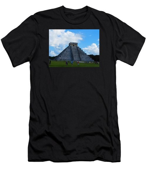 Chichen Itza Men's T-Shirt (Athletic Fit)