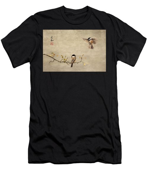 Chickadee Encounter II Men's T-Shirt (Athletic Fit)