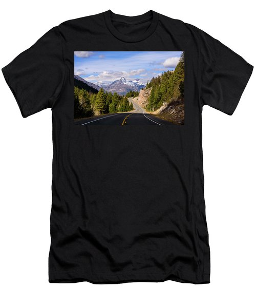Chief Joseph Scenic Highway Men's T-Shirt (Athletic Fit)