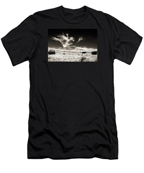 Chihuahuan Desert In Sepia Men's T-Shirt (Athletic Fit)