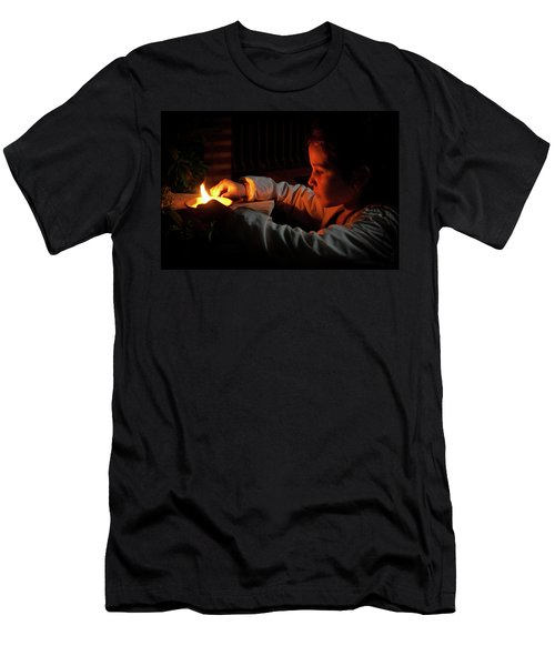 Child In The Night Men's T-Shirt (Athletic Fit)