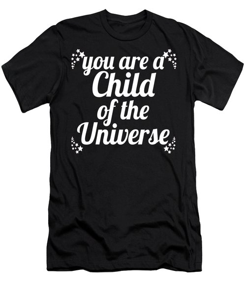 Child Of The Universe Desiderata - Pink Men's T-Shirt (Athletic Fit)