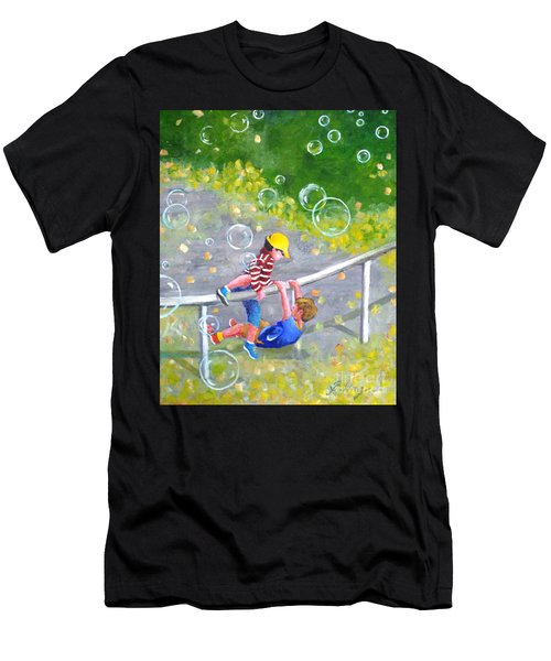 Childhood #1 Men's T-Shirt (Athletic Fit)