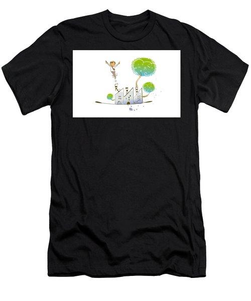 Childhood Dream Men's T-Shirt (Athletic Fit)