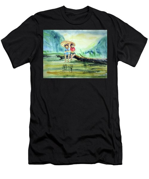 Childhood Joys Men's T-Shirt (Athletic Fit)