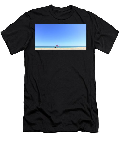 Men's T-Shirt (Athletic Fit) featuring the photograph Chilling At Cable Beach by Chris Cousins