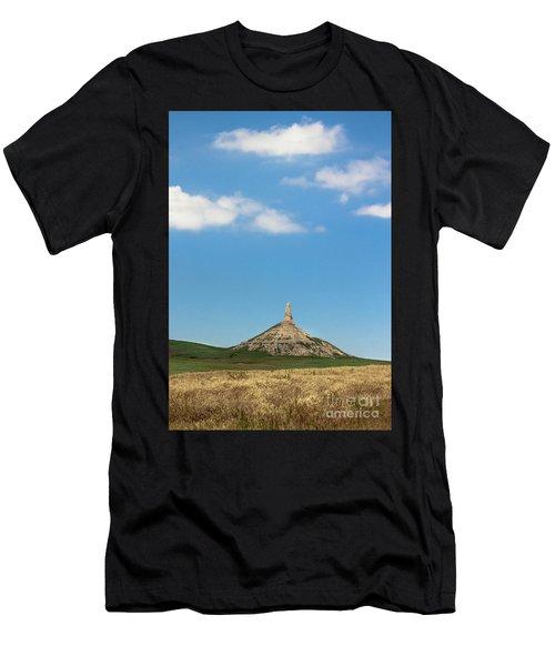 Chimney Rock Nebraska Men's T-Shirt (Athletic Fit)