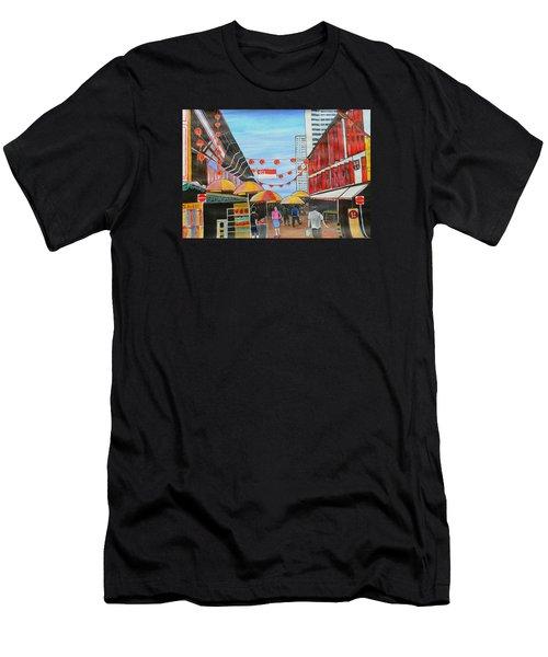 China Town Singaporesg50 Men's T-Shirt (Athletic Fit)