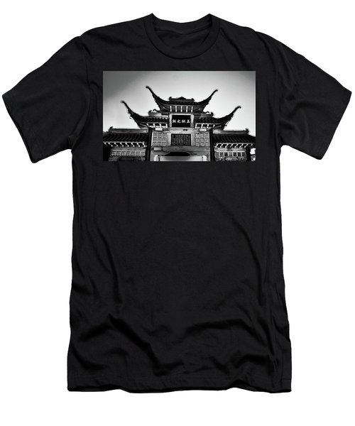 Chinatown L A Men's T-Shirt (Athletic Fit)