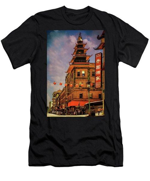 Chinatown San Francisco Men's T-Shirt (Athletic Fit)