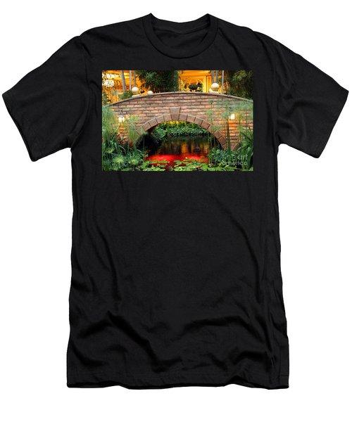 Chinese Bridge Men's T-Shirt (Athletic Fit)