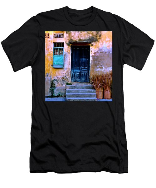 Chinese Facade Of Hoi An In Vietnam Men's T-Shirt (Athletic Fit)