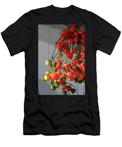 Chinese Lanterns Men's T-Shirt (Athletic Fit)