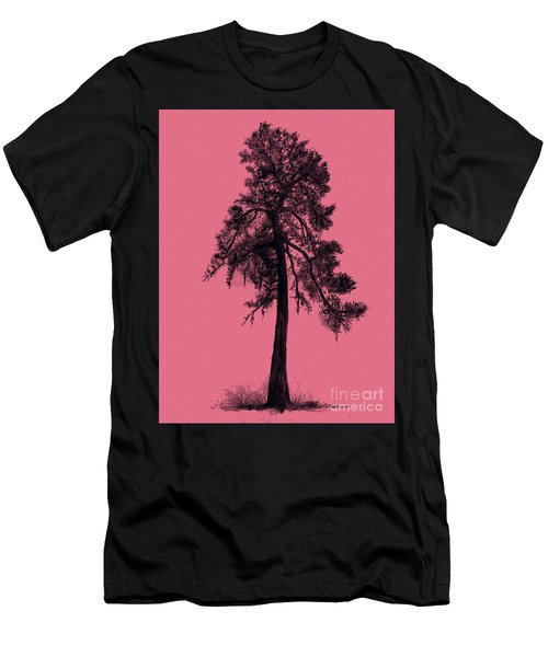 Chinese Pine Tree Men's T-Shirt (Slim Fit) by Maja Sokolowska