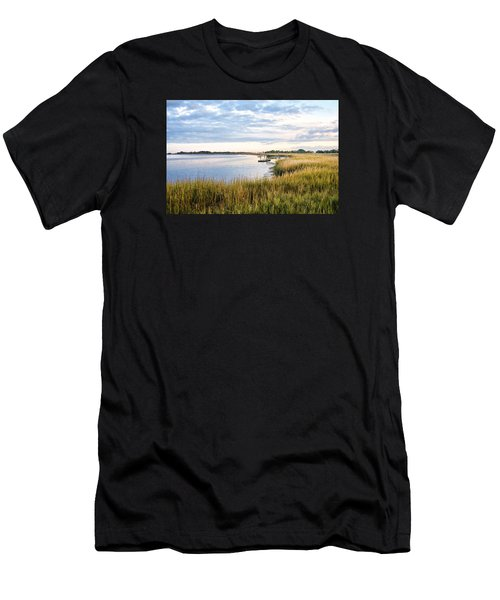 Chisolm Island Shoreline  Men's T-Shirt (Athletic Fit)