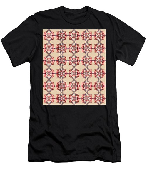 Chock A Block Beige Men's T-Shirt (Athletic Fit)