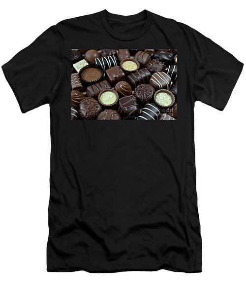 Chocolates Men's T-Shirt (Athletic Fit)