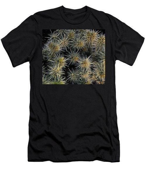 Cholla Cactus Cluster Men's T-Shirt (Athletic Fit)